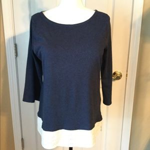 Tommy Hilfiger Layered Look Top - L